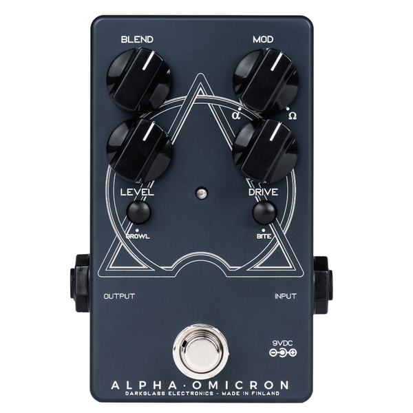 Darkglass Alpha·Omicron Distortion Pedal refurbished