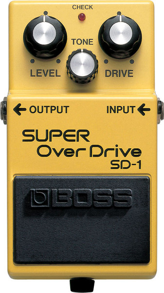 Boss SD-1 Super OverDrive guitar pedal