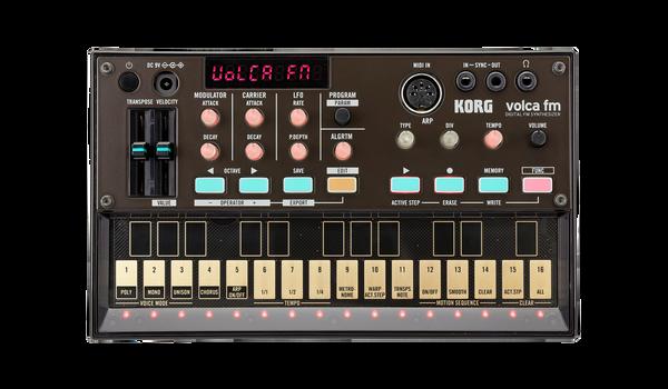 Korg Volca fm digital fm synthesizer Open Box Demo