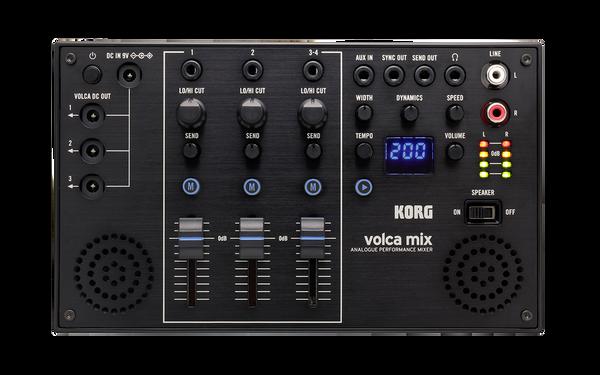 Korg Volca mix analogue performance mixer open box demo