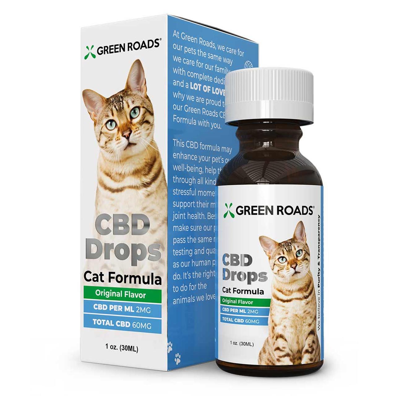 PET CBD DROPS CAT