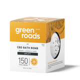 Green Roads large CBD Bath Bomb - UPLIFT (orange, lemon, lavender)