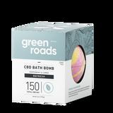 Green Roads large CBD Bath Bomb - Refresh (peppermint & lemon)