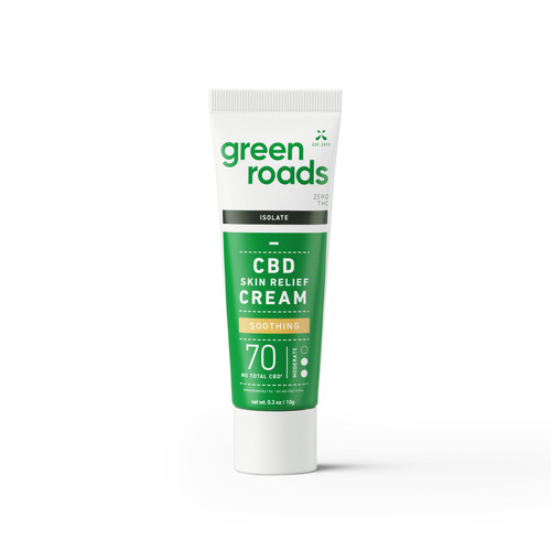 Travel Size Skin Relief CBD Cream - 70mg