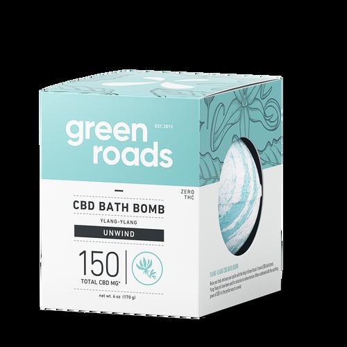 150mg Unwind CBD Bath Bomb