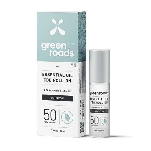 Essential Oil Roll-On - REFRESH - 50mg CBD