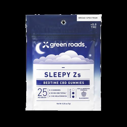 Green Roads Sleepy Z CBD gummies (2 pack). CBD gummies to help with Sleep
