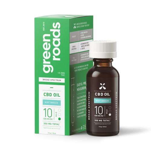 Green Roads Mint Breeze CBD Oil - 300mg box