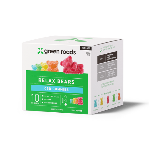 Green Roads Relax Bears CBD Gummies