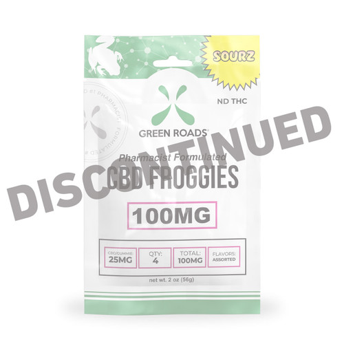 100mg Sour Froggies - 4ct