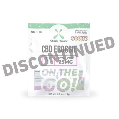 Sour CBD Froggie - 25mg