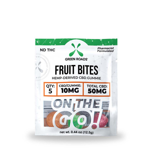 CBD Fruit Bites - 50 mg
