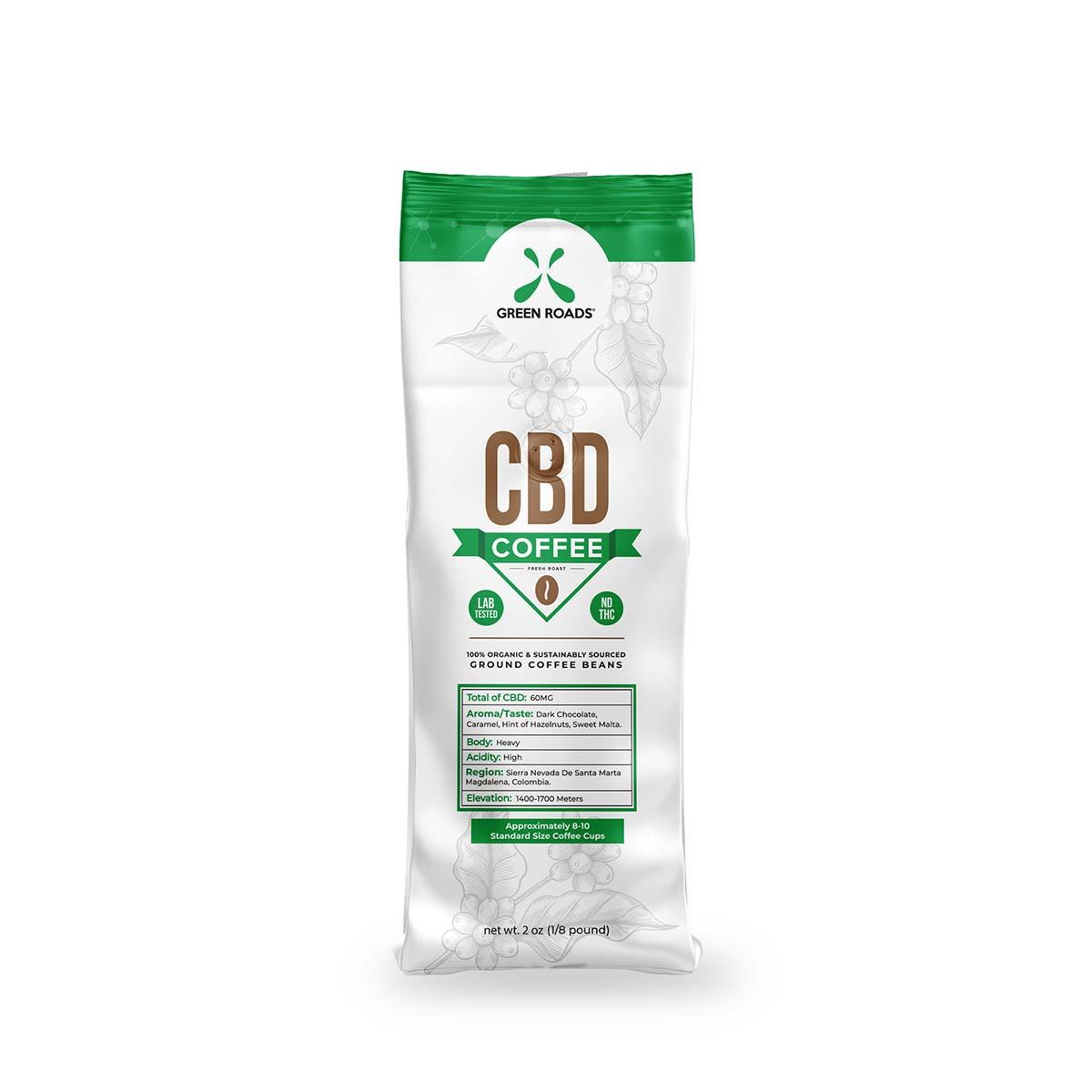 CBD Coffee - 2 oz