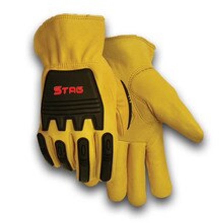 Stag Impact Leather Glove