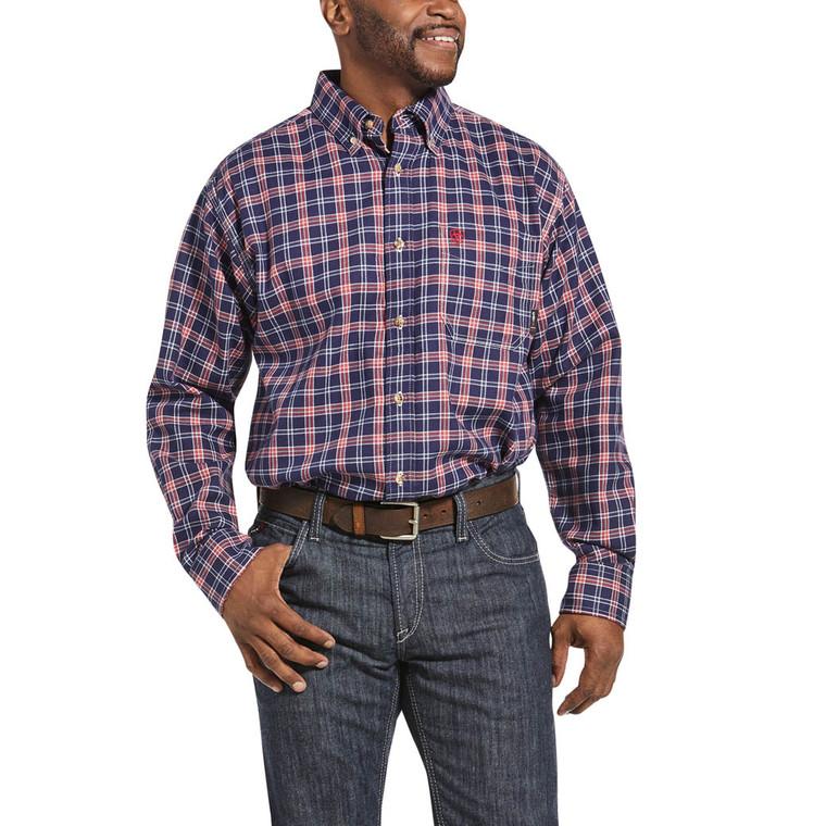 Ariat FR Olympia Blue Ferguson Work Shirt
