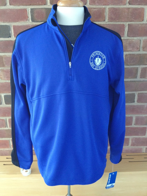 CHARLES RIVER SPORT 1/4 ZIP  WICKING PULLOVER
