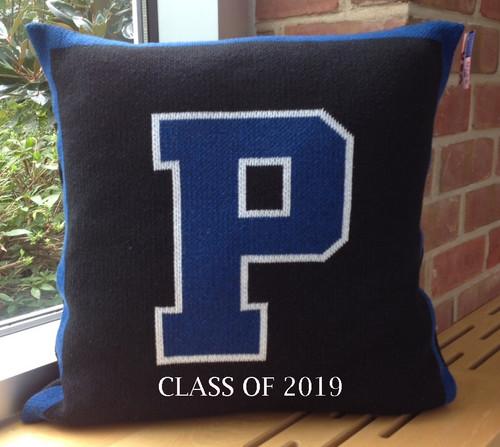 CLASS OF 2019 WOVEN PILLOW