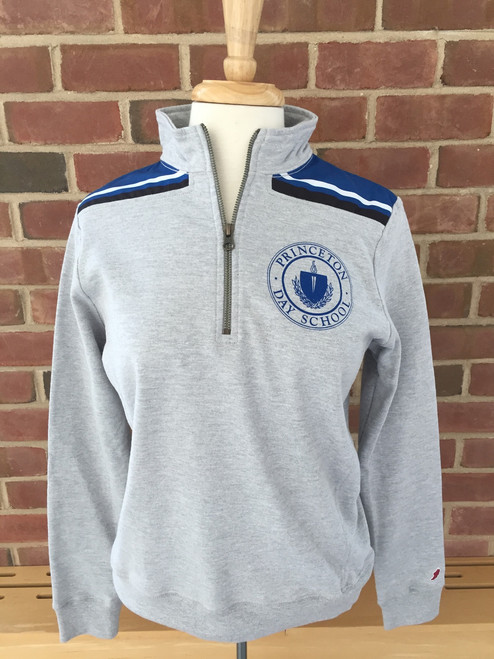 League 1/4 zip front