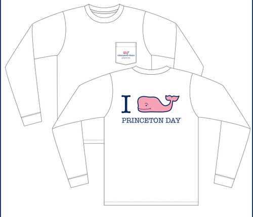 VINEYARD VINES YOUTH L/S POCKET TEE, WHITE