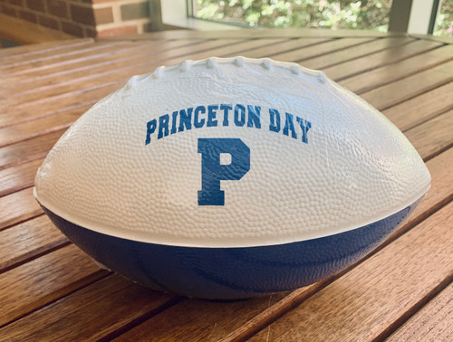 PRINCETON DAY SCHOOL FOAM FOOTBALL