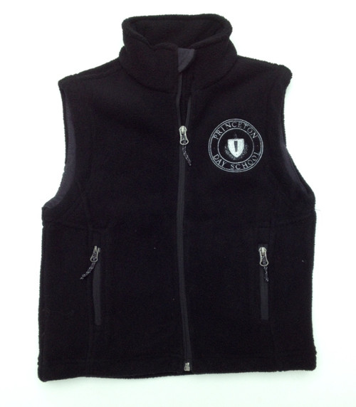YOUTH FLEECE EMBROIDERED VEST