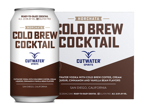 Horchata Cold Brew Cocktail 4-Pack