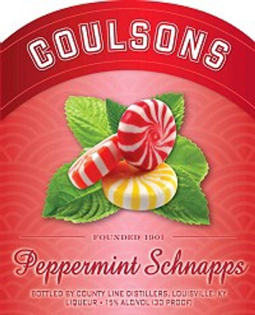 Coulsons Schnapps Peppermint