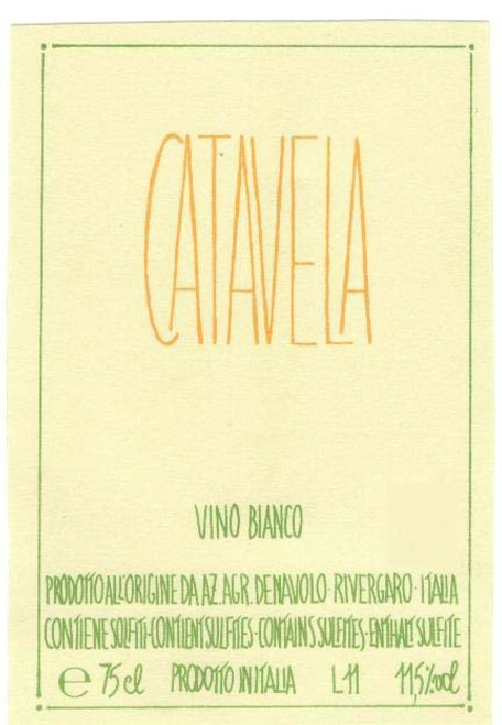 "Vino Bianco, ""Catavela"" Orange Wine"