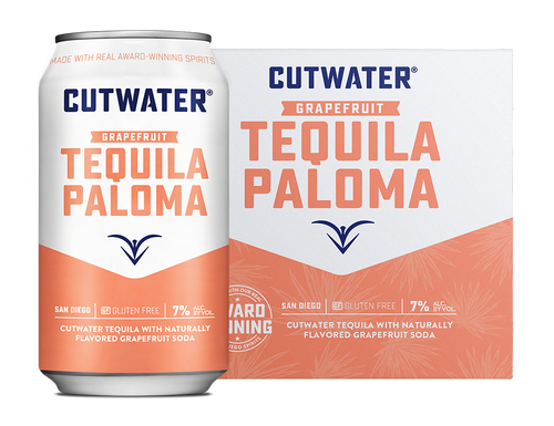 Cutwater Spirits Grapefruit Tequila Paloma 4-Pack