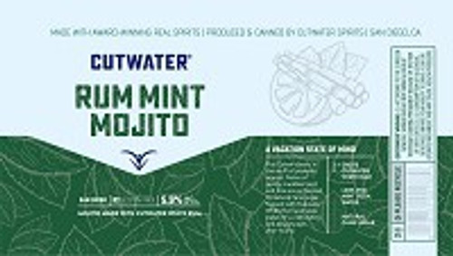 Cutwater Spirits Rum Mint Mojito 4-Pack