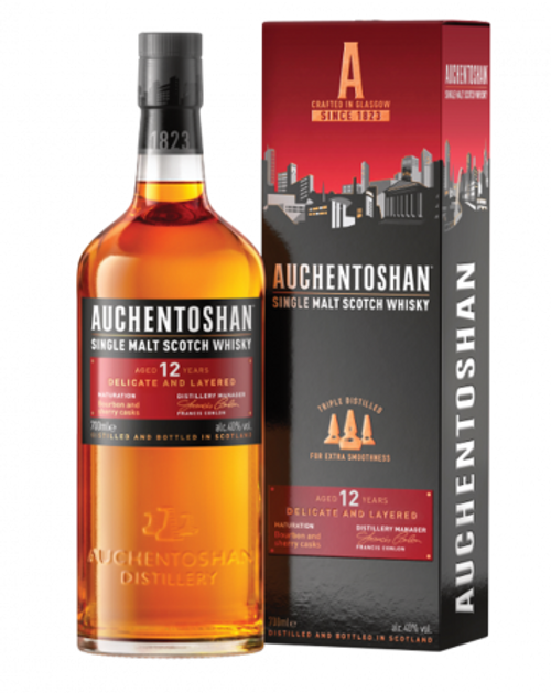 Auchentoshan Single Malt Scotch Whisky 12 Yr Old