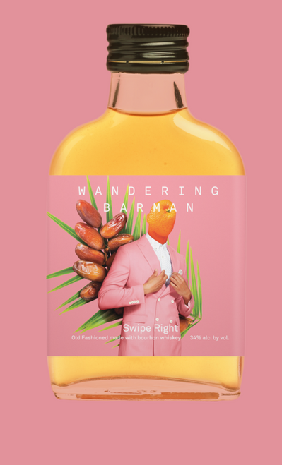 Wandering Barman Handcrafted Cocktail Swipe Right