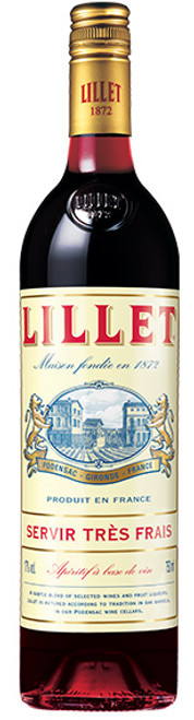 """Lillet """"Red"""" French Aperitif Wine Liqueur"""