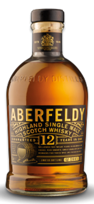 Aberfeldy 12 Years Highland Single Malt Scotch Whisky