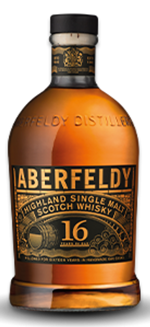 Aberfeldy 16 Years Highland Single Malt Scotch Whisky