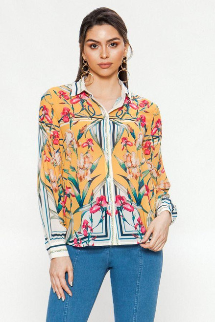 VINES AND CHAINS BLOUSE