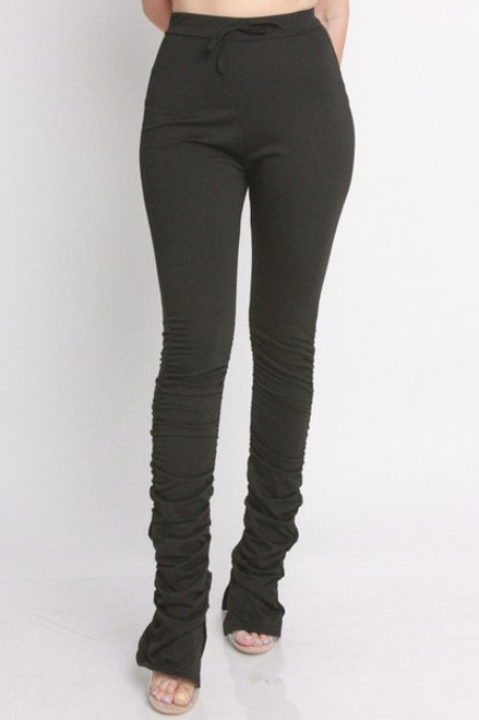 Slouchy Black Leggings