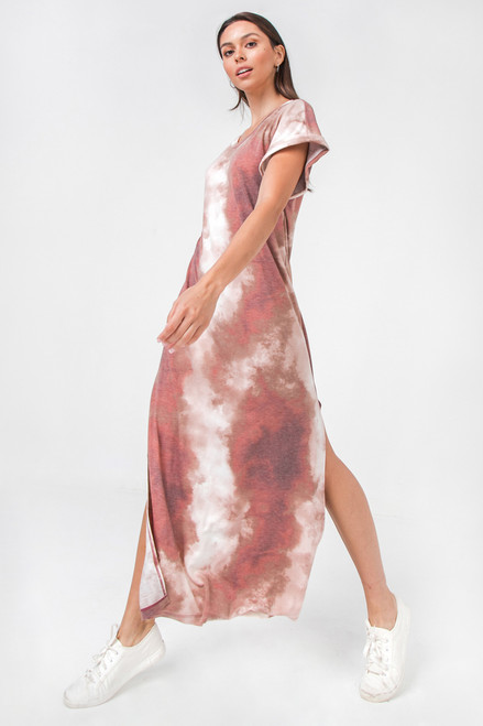 DESERT STORM TYE DYE DRESS