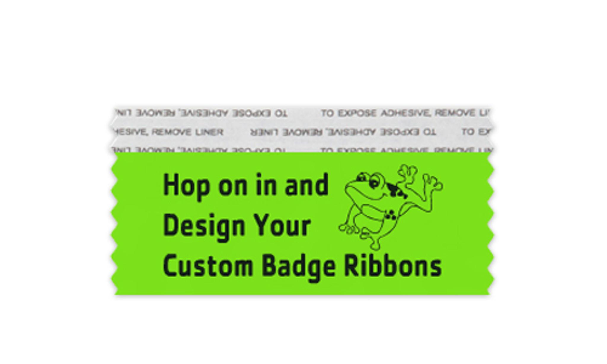 Custom Stackable Badge Ribbon 2 x 4