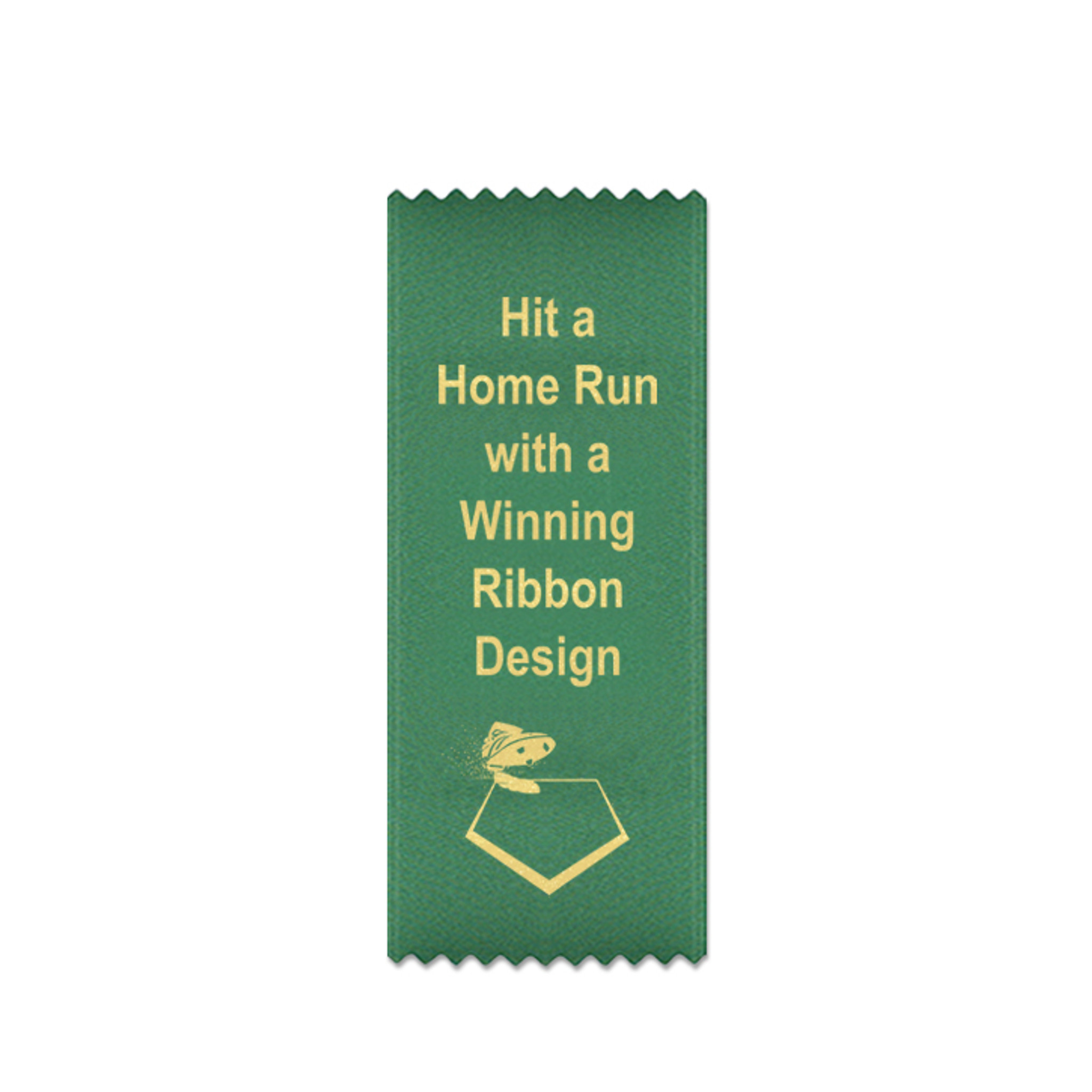 Custom 2.5x6 Bookmark Style Ribbon