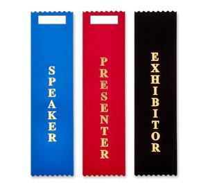 Vertical Badge Ribbons