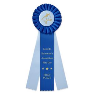 Custom Award Rosette Ribbon