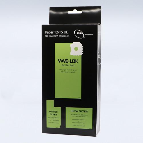Pacer 12/15 UE, 100-Hour HEPA Filtration Kit