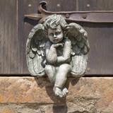 Seated Cherub Statue, Small