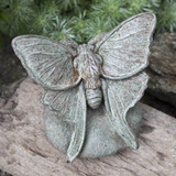 Lunar Moth Garden Statue