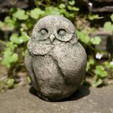 Baby Barn Owl Garden Statue