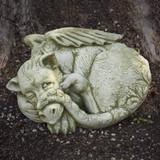 Peep Garden Statue