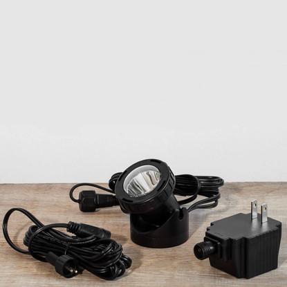 Single LED fountain light kit