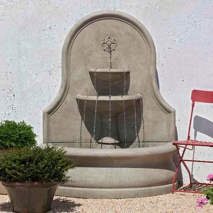 estancia garden and wall fountain for yard, patio, backyard, garden, outdoor space