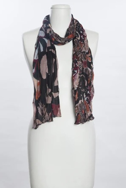 Vivante Colorful Fall Flowers Scarf